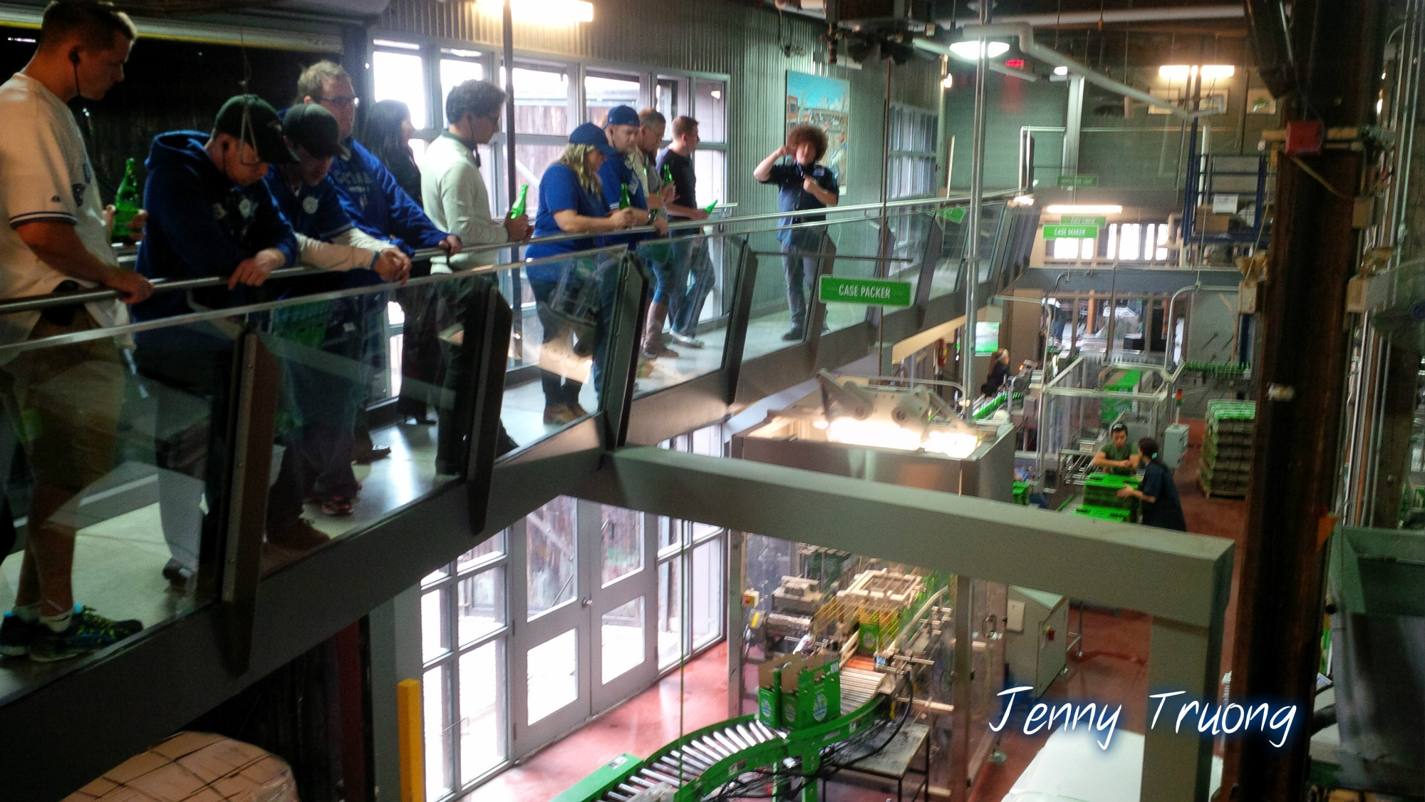 steam whistle brewing tour