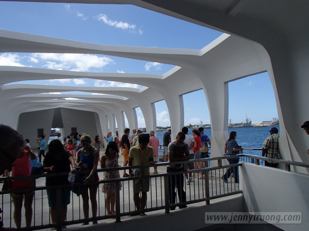 oahu72 Photo of the Day: USS Arizona Memorial