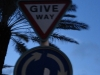 'Give Way' in Bahamas