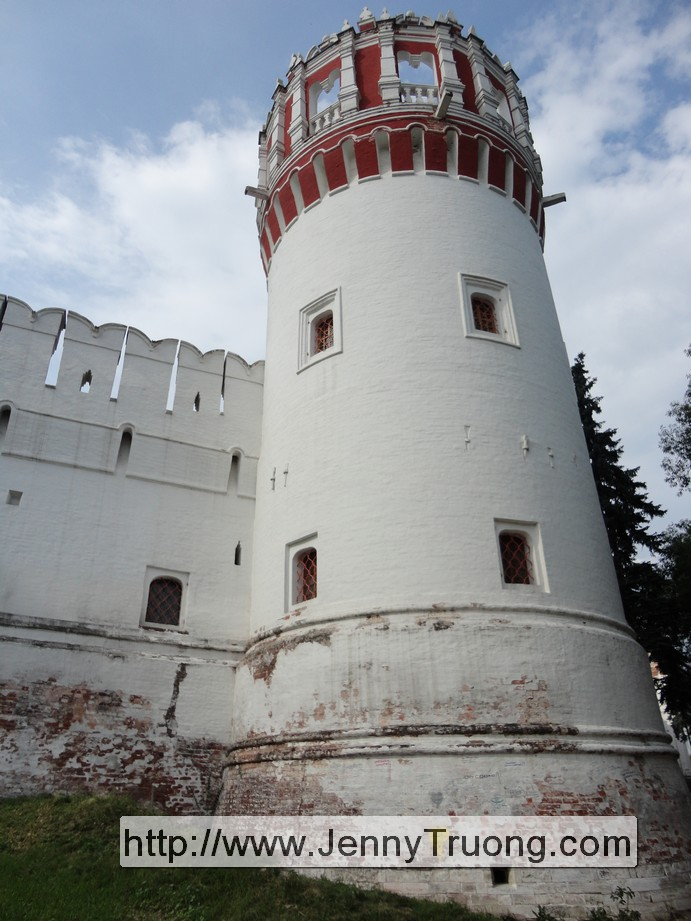 Tower where Princess Sofia was held prisoner
