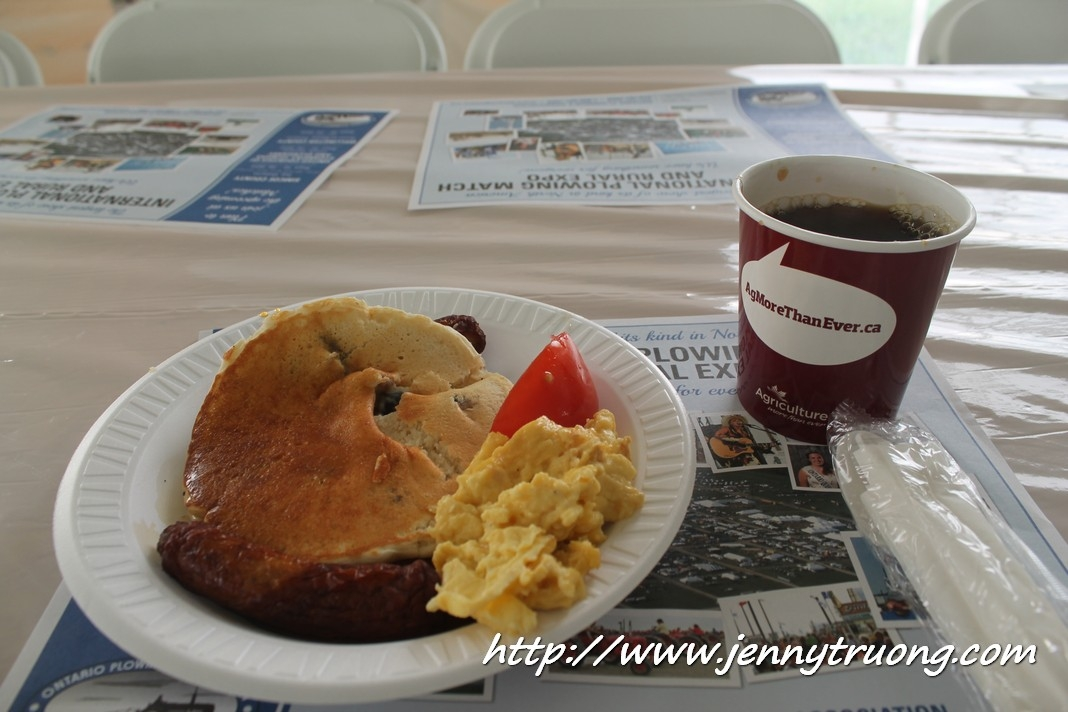 2014 Wilmot Orchard Breakfast plate