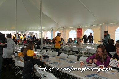 14 Wilmot Orchard Breakfast on The Farm Dining Tent