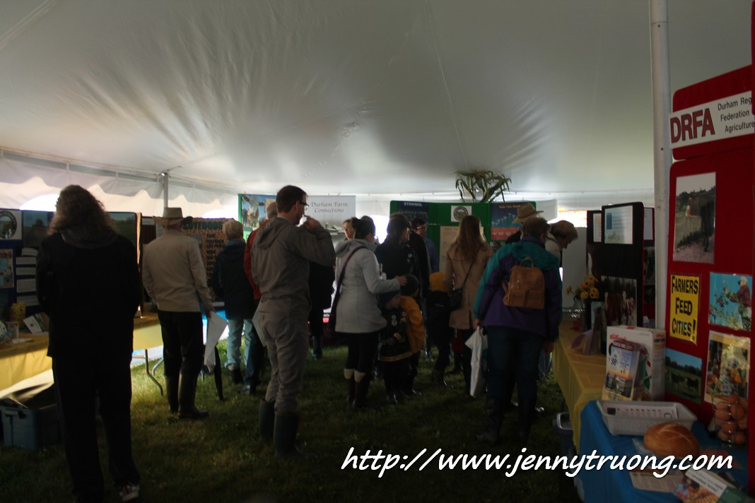 2014 Wilmot Orchard Breakfast Information Tent