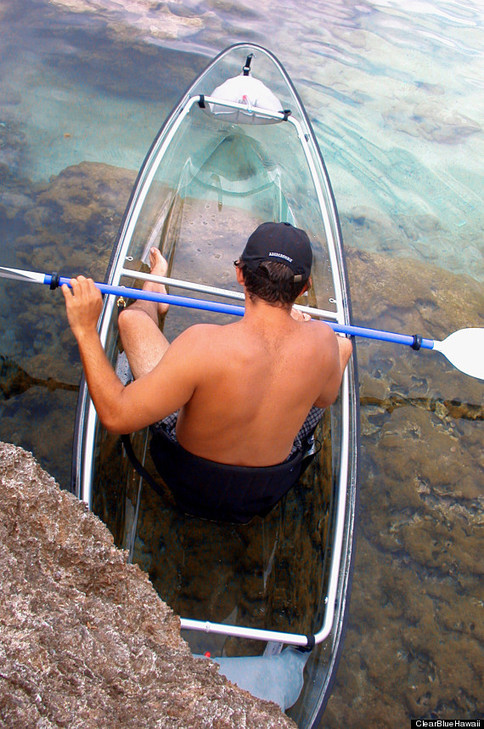 d8976ed1 deab 4abc 9a1f ce81a000cadd We Wish Wed Thought Of This Genius Transparent Kayak