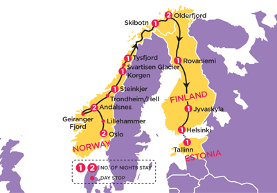 4c60966a2b31a8f Topdeck Tours Scenic Scandi 15 day tour